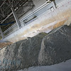 Cement and sand at brick factory at areated cement brick factory near Moscow