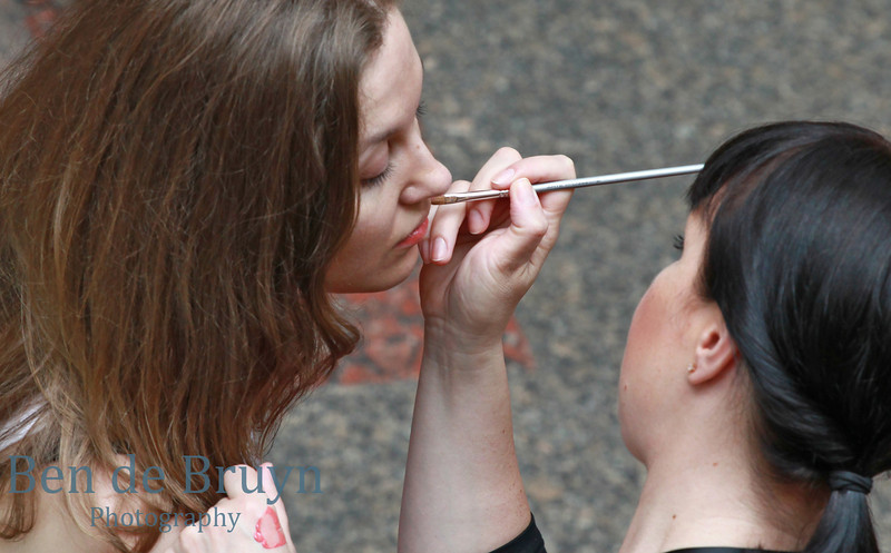Moscow Landmark: Make up at GUM department store