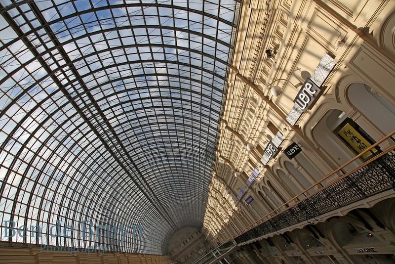 Moscow Landmark: GUM department store View 7