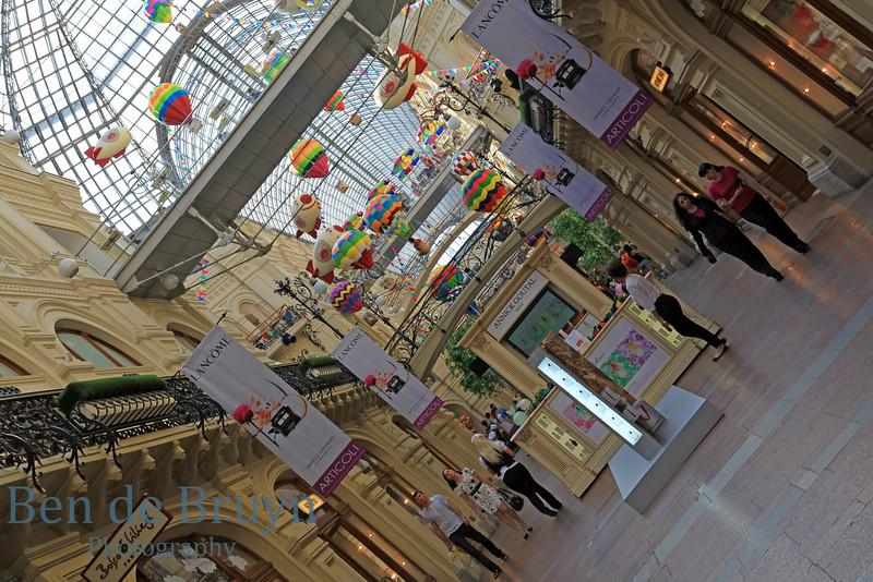 Moscow Landmark: GUM department store View 2