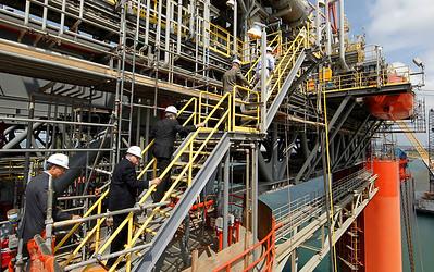 Exmar Deepwater Oil Platform