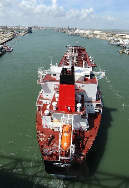 M/V Pennsylvania tanker