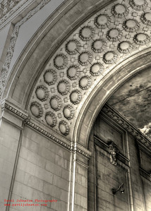 NYC archway