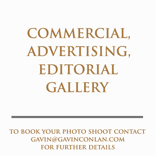 High-end Commercial, Advertising and Editorial Photography by gavin conlan photography Ltd