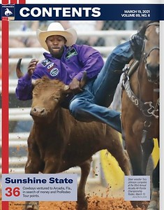 ProRodeo Sports News Publication March 19, 2021