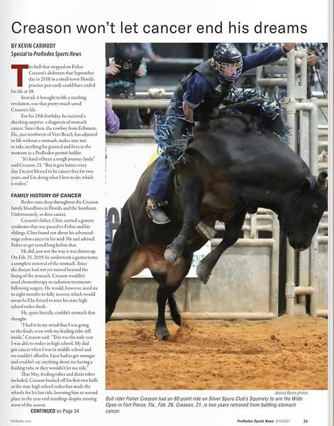 ProRodeo Sports News