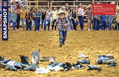 Indiantown ProRodeo Youth Boot Scramble