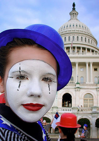 """""""Mime at our nations capitol"""""""