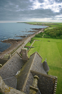 """""""Top of Ackergill Castle in Scotland"""""""