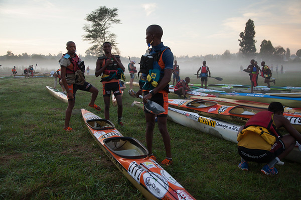 Day one of the Dusi Marathon