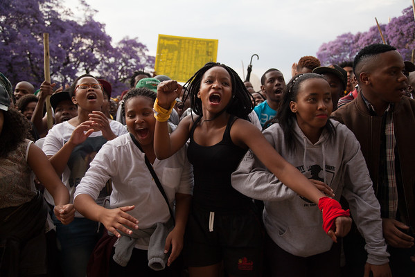 #Feesmustfall 2015 - Campus Crusades
