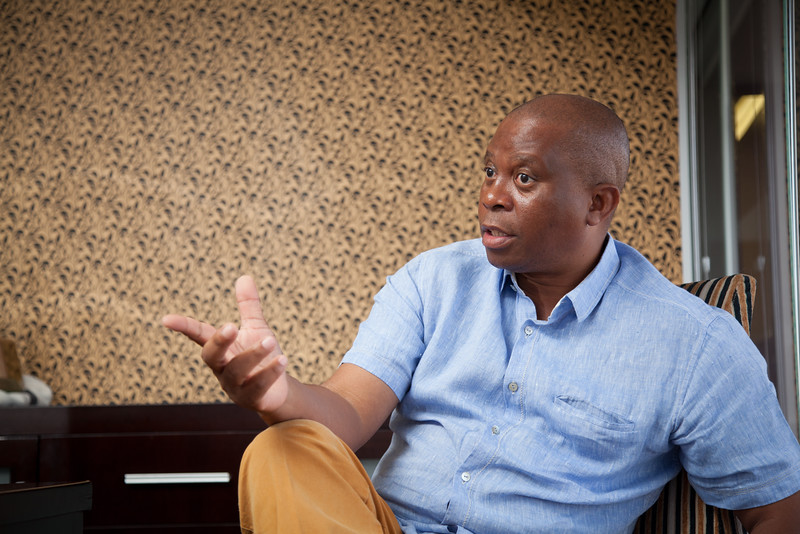 Herman Mashaba, Entrepreneur Black Like Me, $100 million