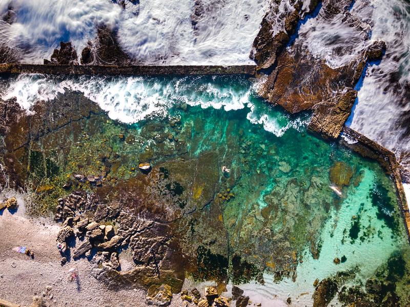 Hermanus tidal pool, Hermanus, South Africa