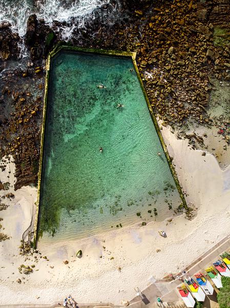 St James tidal pool, 2020