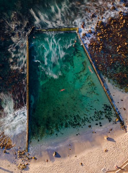 St James tidal pool, 2021