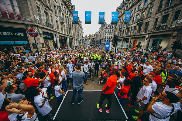 Nike Unlimited London Opening Ceremony - Regent Street, London