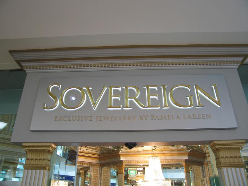 Main Sign at Entry