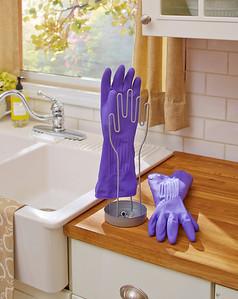 Kitchen Glove Stand