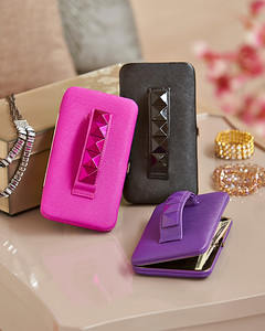 Studded Handstrap Flat Wallets...