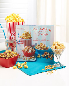 Popcorn Treats Recipe Book