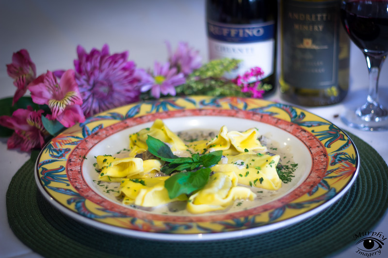Stiffed Tortellacchi with Beef and Veal