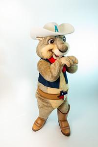 "Amarillo Sod Poodles Mascot 'Ruckus"" March 13, 2019 [Shaie Williams]"