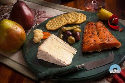 Hors d'Oeuvres de Salmon