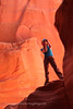 Female Photographer in Canyon X