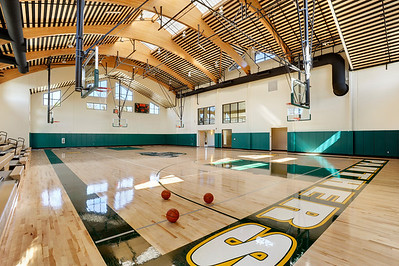 Pinewood School Gymnasium, Palo Alto, CA. Vance Brown Builders.