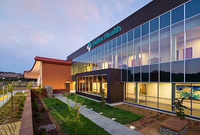 Sutter Health Santa Rosa. HGA, Unger Construction Company.