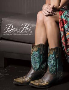 Company Product Ad - Dan Post Boots