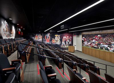 Stanford Football Performance Center. Kenneth Rodrigues & Partners. Vance Brown Builders.