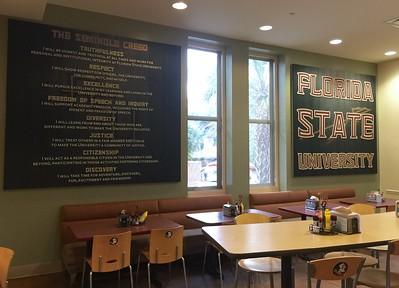 Murals - Fresh Food Company (Florida State University)