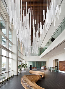 San Jose Construction. RMW. Juniper Networks, San Jose, CA. Lobby