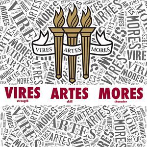 Vires Artes Mores - Art for Florida State University Mural