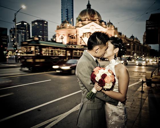 Love in Motions, Flinders St, Melbourne