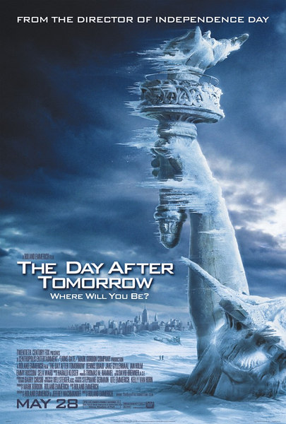 The Day After Tomorrow (2004)<br /> I worked at The Orphanage from Dec '03 to March '04. I used 3dsmax with Brazil for the Helicopter Crash sequence.