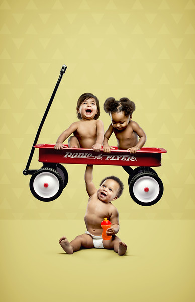 Strong Babies - Red Wagon