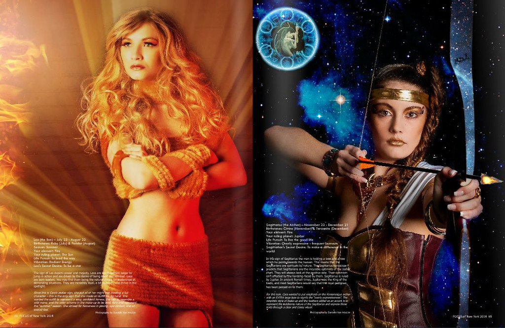 """2014 Focus of New York Magazine """"Faces Of The Zodiac"""""""