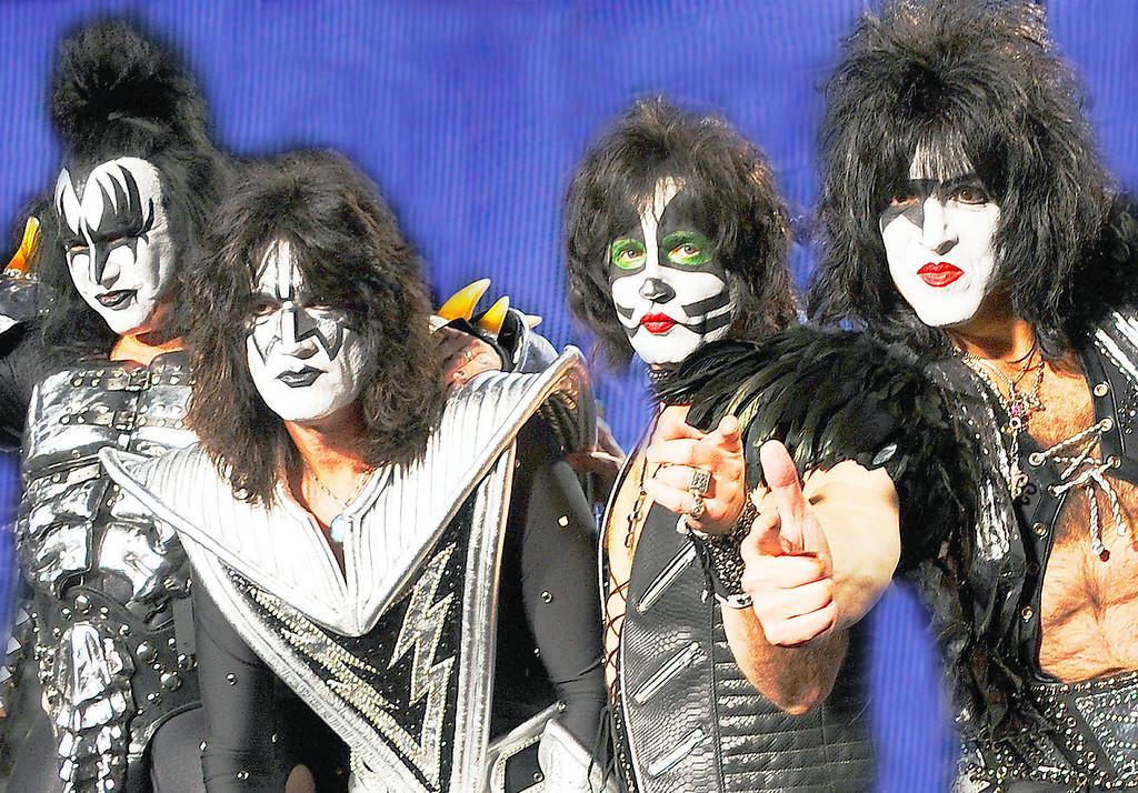 Motley Crue and Kiss 2012 Mega Tour News Conference