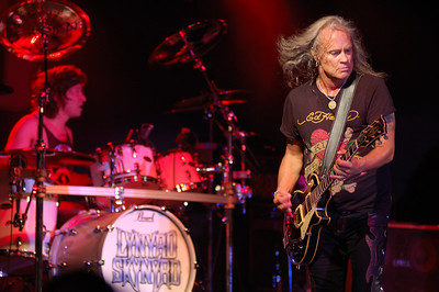 Rickey Medlocke on guitar for Lynyrd Skynyrd, St Leonard, MD