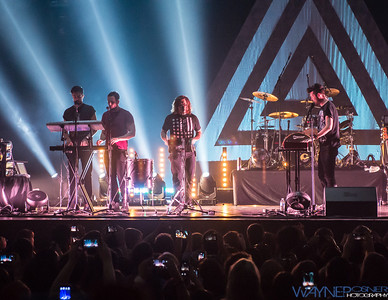 Bastille performs at the House of Blues inside Mandalay Bay