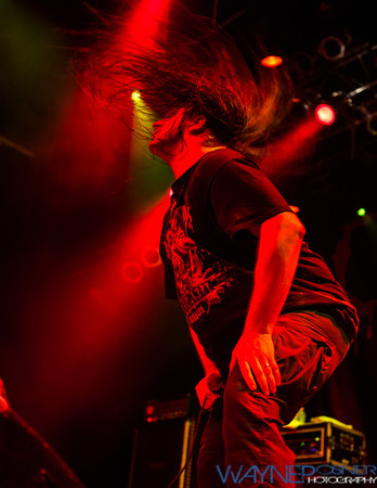 Cannibal Corpse performs at the House of Blues