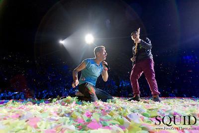 Coldplay Portland Rose Garden