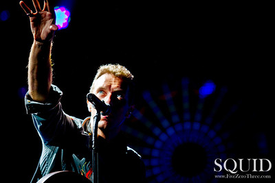 Coldplay Portland Rose Garden