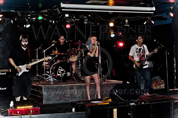Dreamwire performing at the Cheyenne Saloon