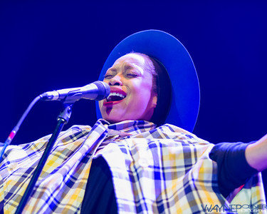 Erykah Badu performs at the UNLV Thomas and Mack Center in Las Vegas on Apr 6, 2013