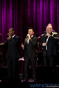The Las Vegas Tenors perform at the South Point Casino in Las Vegas, NV