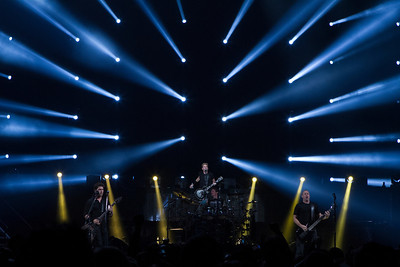 Nickelback at the Portland Rose Garden Arena