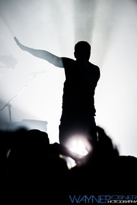 Nine Inch Nails performs at The Joint inside The Hard Rock Hotel and Casino in Las Vegas, NV